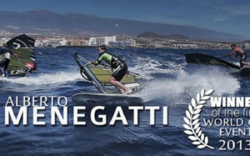 Alberto Menegatti & POINT-7 wins the PWA slalom in Korea!